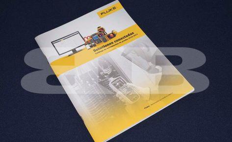 Impresión Catálogo de productos de Fluke – Seisa