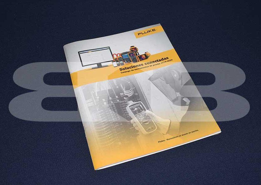 Impresión catálogo de producto Fluke 2019 – 2020
