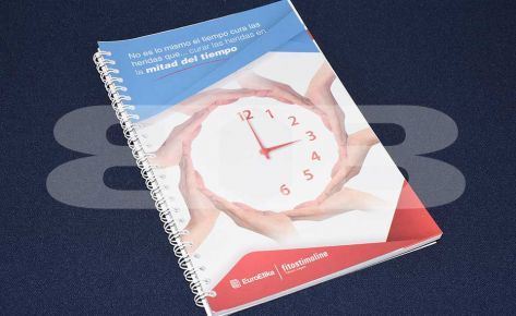 Impresión cuaderno Euroetika