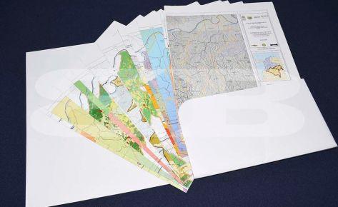 Impresión Carpeta y mapas Instituto Sinchi