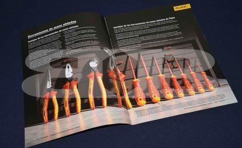 Impresión Catálogo herramientas Fluke – Seisa
