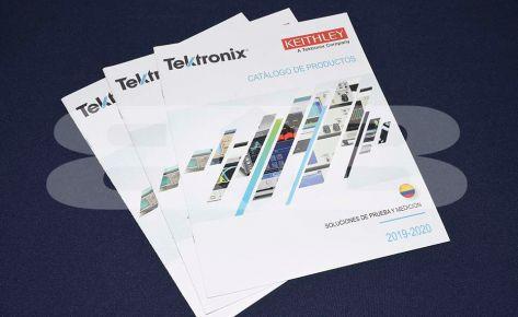 Impresión catálogo Tektronix – SEISA