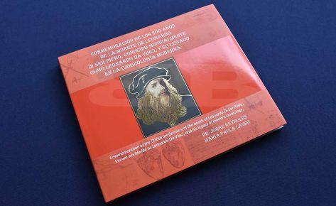Impresión Libro Leonardo Da vinci
