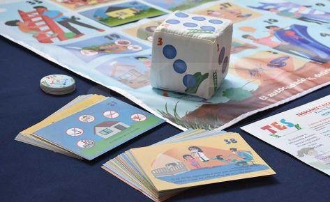 Diseño e impresión de juego didáctico OIM